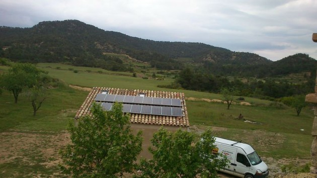 instalacion de energia solar en casa: