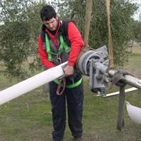 Mantenimiento de aerogeneradores