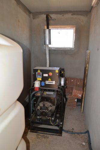 sistema fotovoltaico y de acumulación