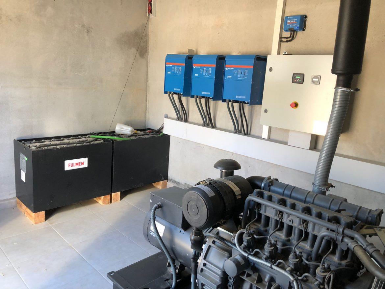 Suministro aislado con apoyo fotovoltaico para granja de novillos en Almenar (Lleida)