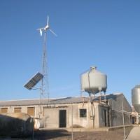 Electrificación aislada Sta. Olalla