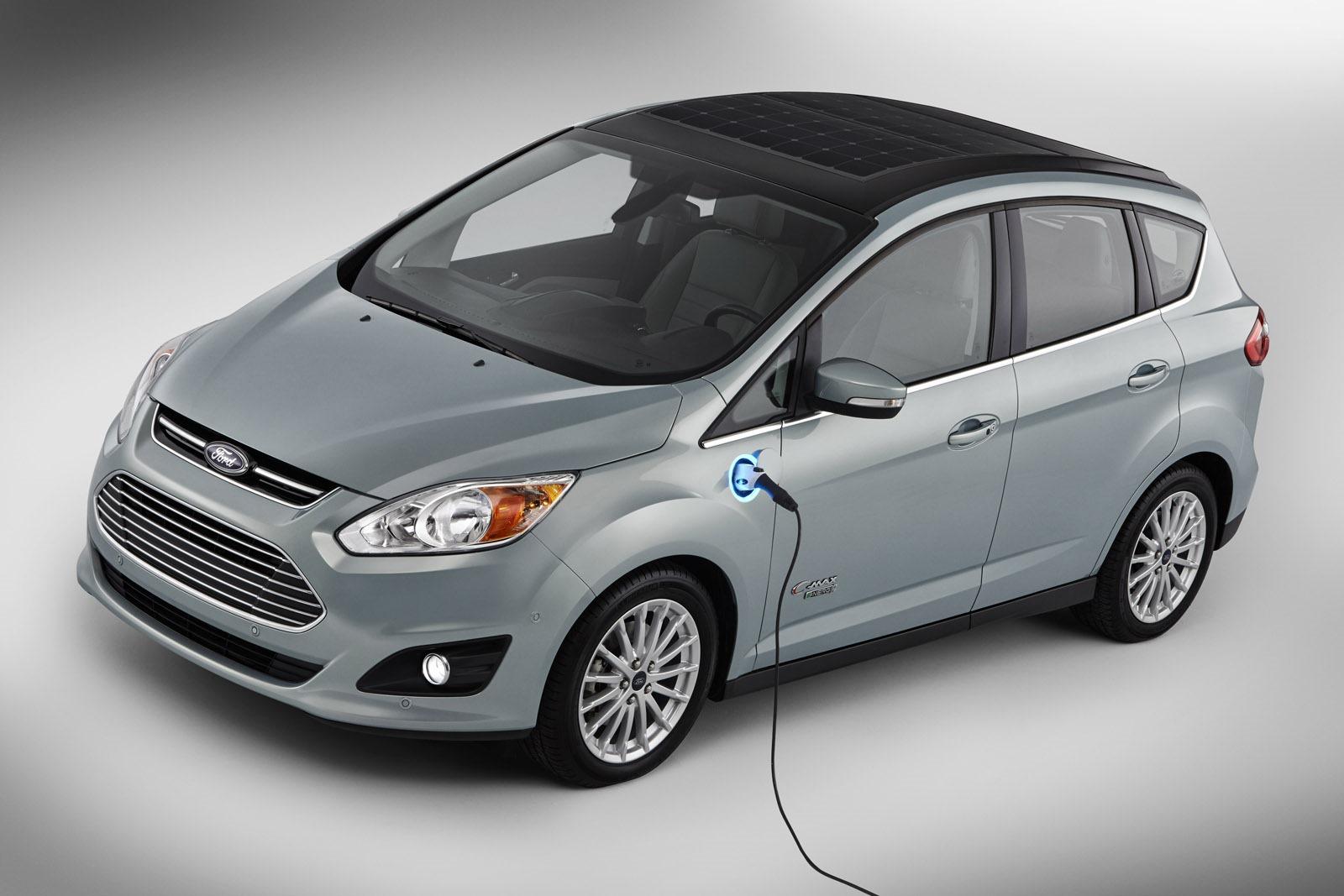 Coche solar: Ford C Max Solar Energy
