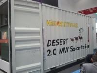 Estaciones solares para el desierto