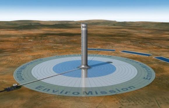 Torre solar enviromission