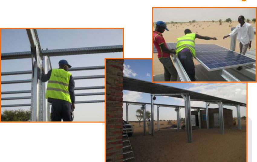 Empresa española lleva luz y agua a una aldea del Chad gracias a la energía solar fotovoltaica