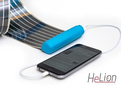 HeLi-on, el cargador solar más pequeño del mundo