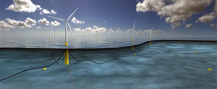 parque eolico marino flotante