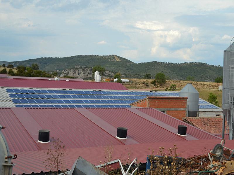 Instalación solar fotovoltaica en Hoz de Barbastro (Huesca)