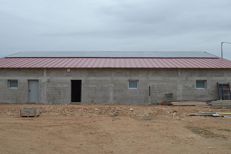 Instalación solar fotovoltaica en Juneda (Lleida)