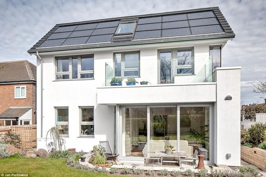 Casa ecológica que consume tan solo 22$ al año en energía
