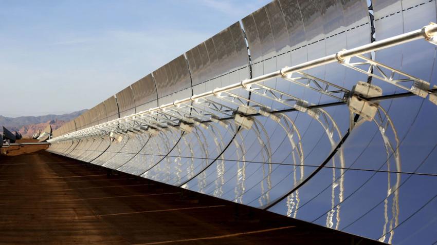 Megaplanta solar construida por empresas españolas en Marruecos