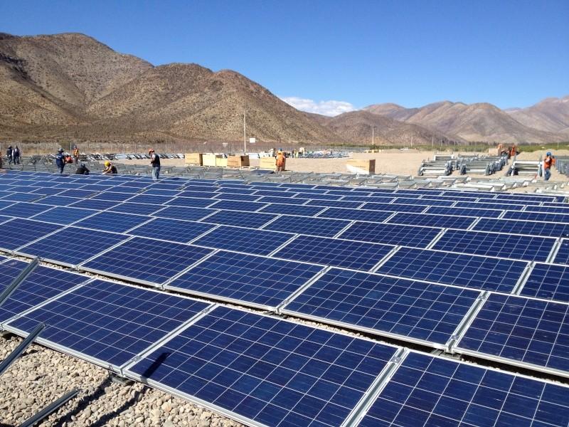 Chile regala energía eléctrica