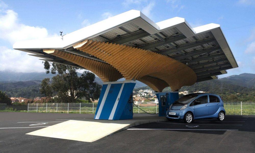 estaciones de servicio solares
