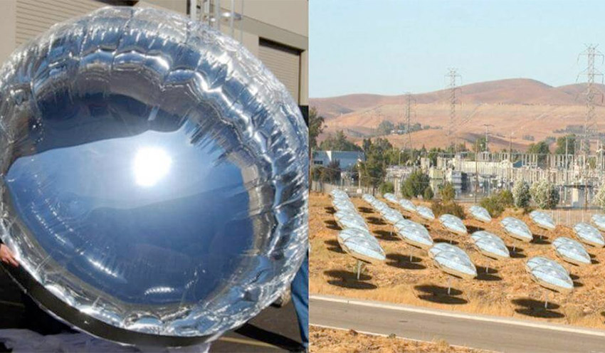 Globos solares con 400 más capacidad energética que los paneles solares tradicionales