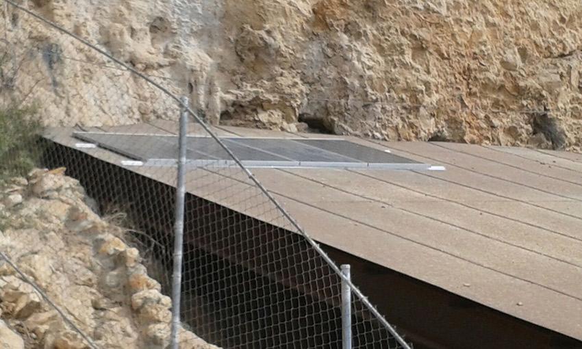 Instalación fotovoltaica en Roca dels Bous