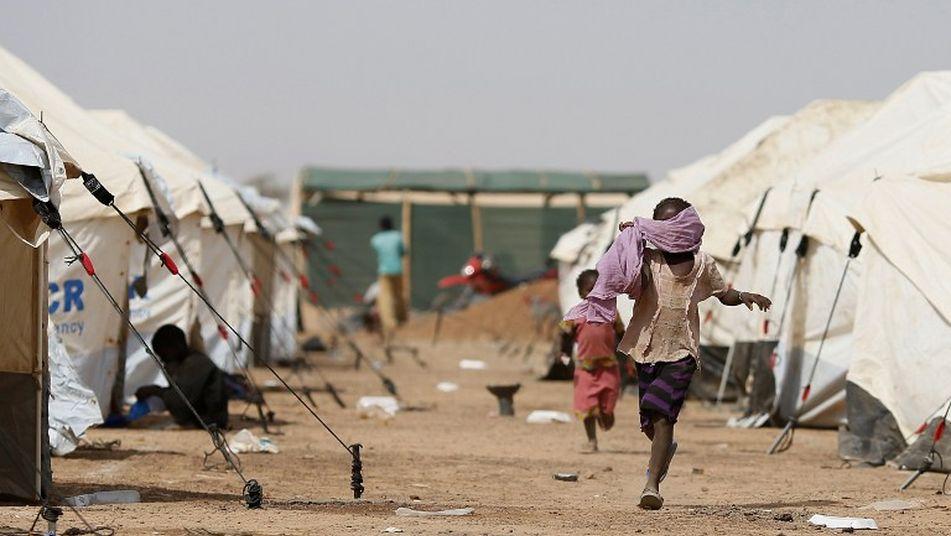 energía solar fotovoltaica en los campos de refugiados