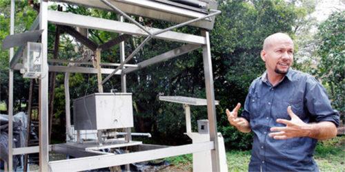maquina que hace hielo con energia solar