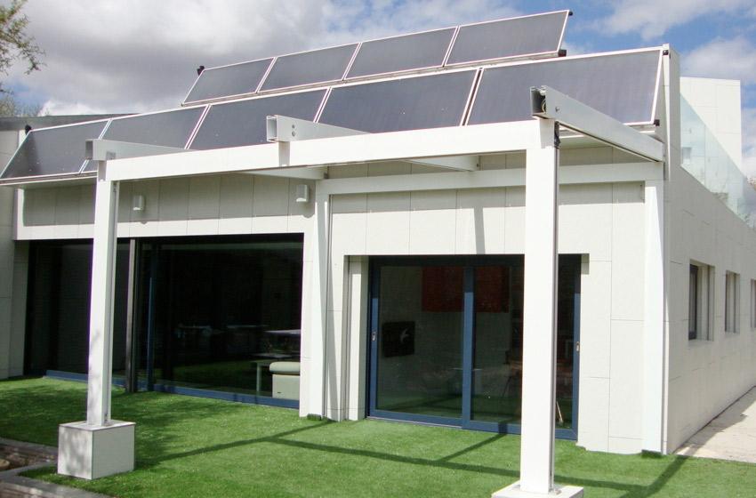 Ya hay una casa autosuficiente sin facturas de luz o agua