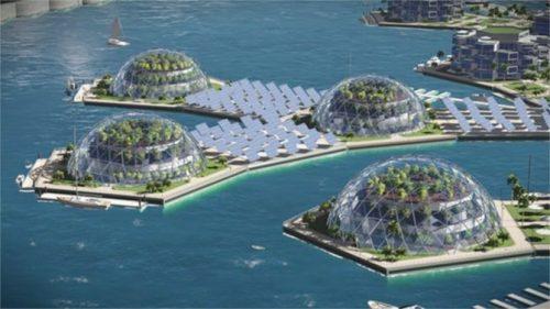 Artisanopolis, ciudad flotante autosuficiente