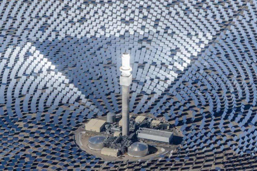 Sandstone, la planta solar que producirá la misma energía que una central nuclear
