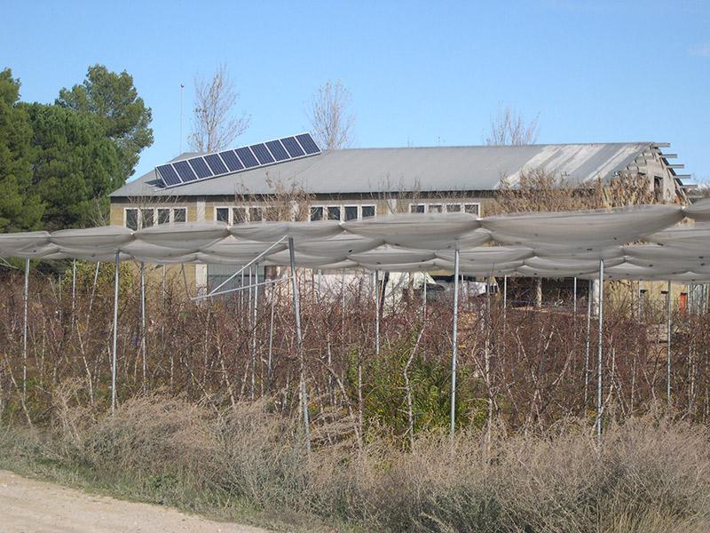 Instalación en nave agricola en Suchs, Lleida