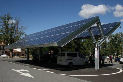Electrolinera sostenible