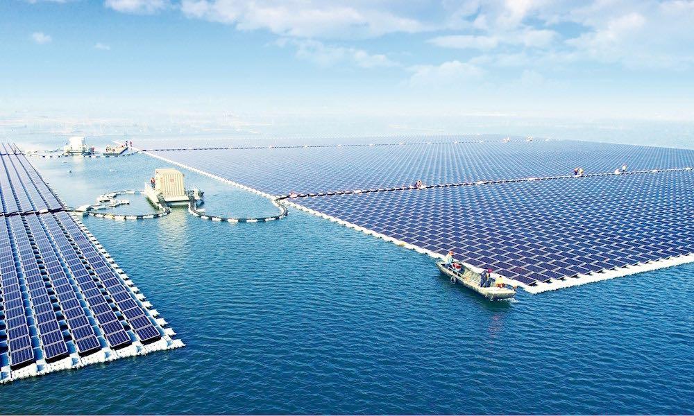 planta solar flotante más grande del mundo