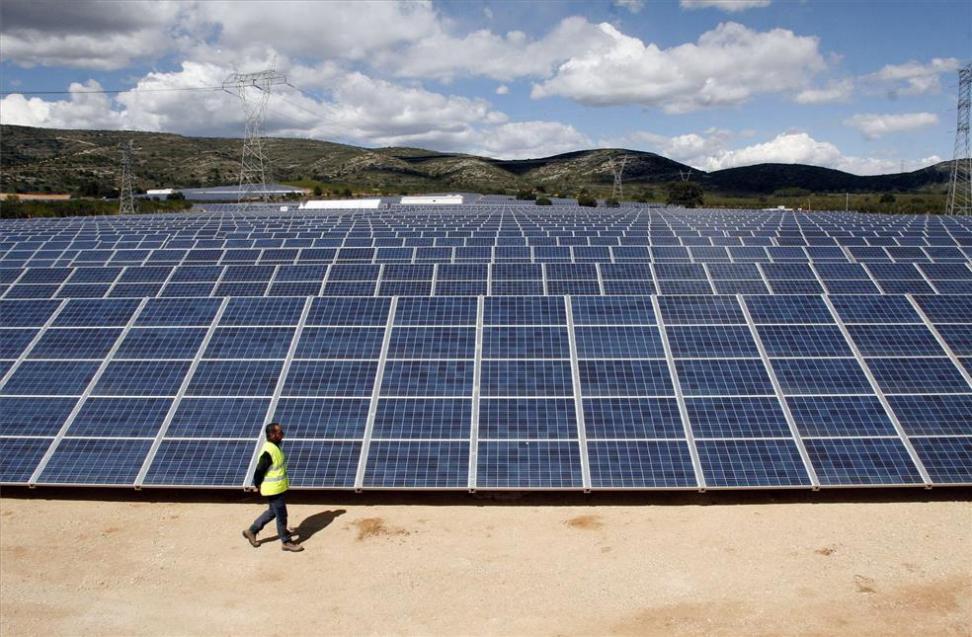 El mayor proyecto fotovoltaico de Europa estara en dos años en Aragon
