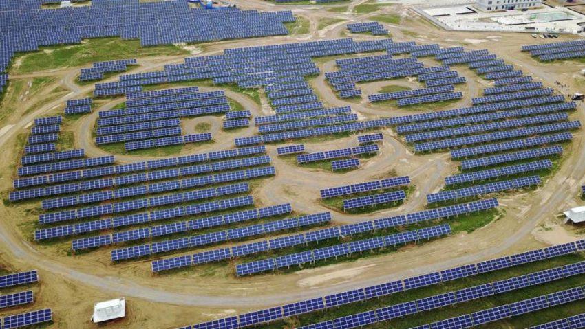 Seguramente la planta solar más curiosa del mundo