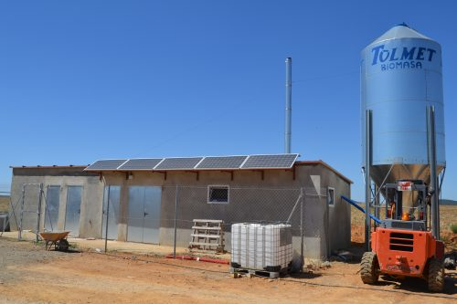instalación en granja de engorde