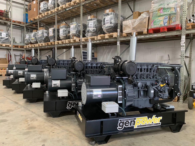 Grupos electrógenos GenPower