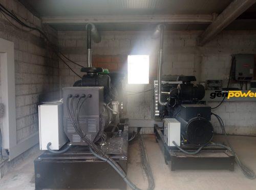 instalación con baterías de ion-litio
