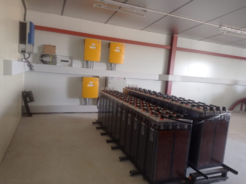 Instalación fotovoltáica en Huesca