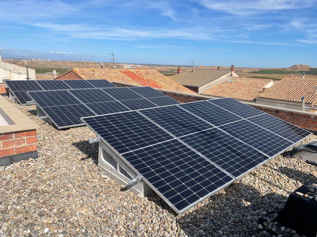 Instalación de autoconsumo solar en vivienda
